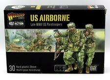 Bolt Action 402013101 WWII US Airborne Late War Paratroopers (30) Miniatures NIB