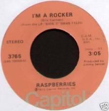 "[ERIC CARMEN] RASPBERRIES ~ I'M A ROCKER / MONEY DOWN ~ 1973 US 7"" SINGLE"