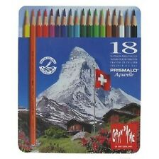 Caran D'ache Prismalo Watercolour Pencil 18 Colour Tin