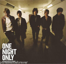 ONE NIGHT ONLY - Started A Fire (UK 10 Track CD Album)