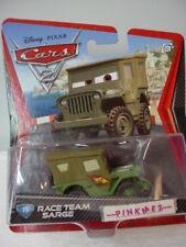 2011 Disney Pixar Cars 2 #15 RACE TEAM SARGE✿Army Green