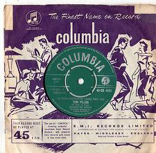 """Jacqueline Boyer - Tom Pillibi 7"""" Sgl 1960 Eurovision"""