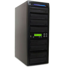 SySTOR 1-7 Standalone USB Memory Flash Drive to Disc (CD DVD) Duplicator Tower