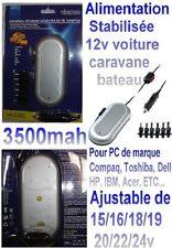 Vivanco KFZ/ Netzteil für Notebook, 15 -24 V, universal, silber 19700