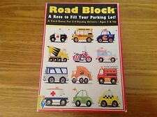 Used but Complete Road Block A Race To Fill Your Parking Lot, Card Game in box.