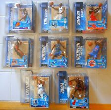 8X MCFARLANE NBA S9/DWAYNE WADE/DIRK NOWITZKI/OKAFOR/HAMILTON/G HILL/JRICH/AMARE