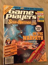 GAME PLAYERS 7  magazine sept. 94 sega import us. console sega nes snes gb