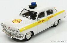 MODELLINO AUTO GAZ VOLGA M21 POLICE 1956 SCALA 1:43