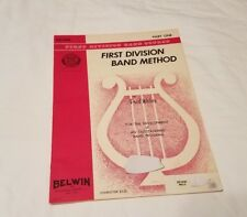Bassoon First Division Band Method Book one 1 Music