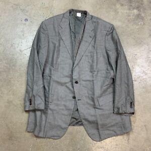 Kiton Gray Cashmere Silk Sport Coat Jacket Blazer Men's 60 50 R