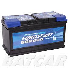 Autobatterie EUROSTART 12V 100Ah 850A EN TOP QUALITÄT