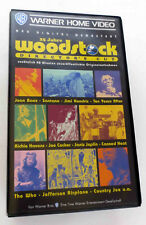 25 Jahre Woodstock Directors Cut 2 VHS Kasetten Warner Home Video 1994 Hendrix