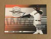 2003 BARRY BONDS DONRUSS SIGNATURE SERIES TT-4 GIANTS PIRATES