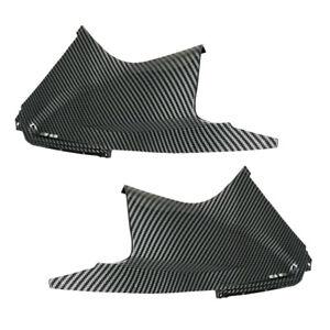 2x Kohlefaser-Stil Luftstaubabdeckung einsatz passt für Yamaha YZF R6 2003-2005