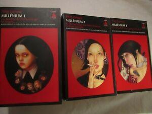 Lot de 3 livres de Stieg Larsson - Millénium tome 1 2 3 - actes sud
