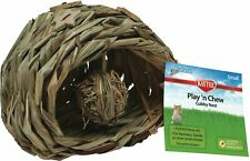 Kaytee Natural Play'n Chew Cubby Nest Small  Free Shipping