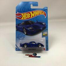 Nissan R390 GT1 #138 * Blue * 2021 Hot Wheels Case H * HG12