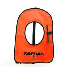 Sopras Sub Snorkel Vest Small Size- Inflatable Life Vest Jacket Great for Snork