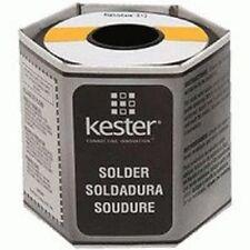"Kester 44 Rosin Core Solder 63/37 .015"" 1 Lb. Spool, New, Free Shipping"