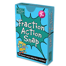Fraction Action Snap and Pairs Card Game - Educational Game for Children 7+ Y...