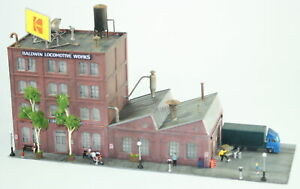 Factory Machine Shop Industrial Building Detailed Hand Painted Weathered N Scale