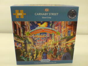 Gibsons 500 piece Jigsaw Puzzle. Carnaby Street. Used Complete