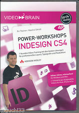 Adobe InDesign CS4 - Power Workshops | Das Praxis-Training auf DVD | neuwertig !