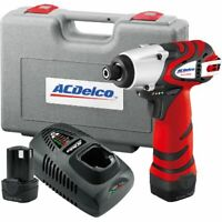 ACDelco 12V Impact Driver Kit  (1265 in-lbs), 2 battery included ARI1265
