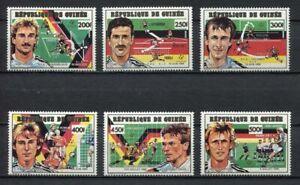 s6342) GUINEA 1991 MNH** WC Football'90- CM Calcio 6v.