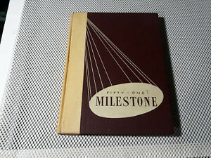 1950 Original Yearbook Eastern Kentucky State Richmond   Many signatures.
