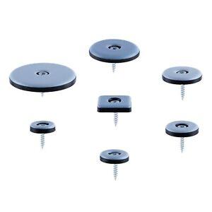 Teflongleiter inkl. Schrauben versch. Größen Möbelgleiter PTFE Gleiter Teflon
