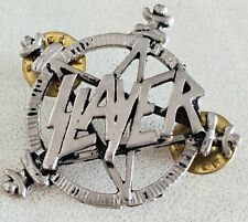 SLAYER Hard Metal Band Pin - Logo Badge from The 90's