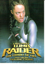 TOMB RAIDER CRADLE OF LIFE PROMOTIONAL CARD TR2-UK