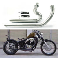 Exhaust System Muffler Fit Honda STEED SHADOW VT600 VLX600 VT400 VLX400 US Store