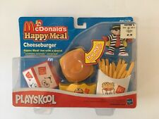 Vtg McDonald Hasbro Yummy Sounds Cheeseburger Happy Meal Set NIB Collectable Toy