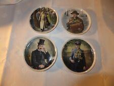 4 Zierteller Wandteller Teller Braunschweiger Originale Harfen Agnes Teeonkel