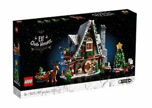 LEGO Seasonal - Elf Club House - 10275 - Christmas - Exclusive *BRAND NEW SEALED