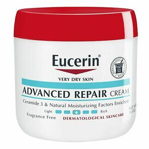 Eucerin Advanced Repair Cream, 16 Ounce