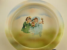 "Beautiful Antique Baby Dish 7.5""  Three Crown China Germany"