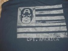 Large Captain America Tank Top Junk Food NWT Disney Woman's