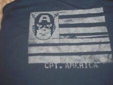 Medium Captain America Tank Top Junk Food NWT Disney