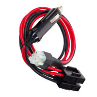 6 pin cigarette lighter DC power cable Kenwood radio TS-450 TS-570 TS2000 etc-