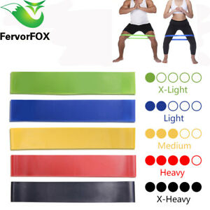 Yoga Resistance Rubber Bands Indoor Outdoor Fitness Equipment