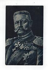 Original Mint color picture postcard Germany General Paul Von Hindenburg Uniform