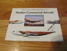 1989 Concise Illustrated Book Modern Commercial Aircraft D Avery Gallery Hc/Dj