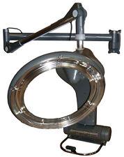 Climazon Haartrockner rotierend 1300W digital Wandarm silbergrau Art 1955
