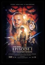 THE PHANTOM MENACE * CineMasterpieces DS 1999 ORIGINAL MOVIE POSTER STAR WARS