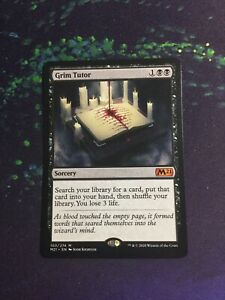 MTG, Grim Tutor. Core Set 2021 Mythic Rare NM