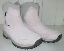 MERRELL Women'sTundra Thinsulate Pale Pink Waterproof Leather Winter Boot Sz 10
