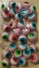 Trolli Glotzer Augen 30 Stück gefüllt Halloween Marshmallow Monsterauge Auge